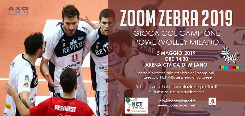 PowerVolley Milano a Zoom Zebra